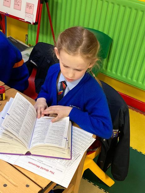 Using a dictionary to check our spellings