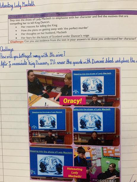 Oracy for writing.