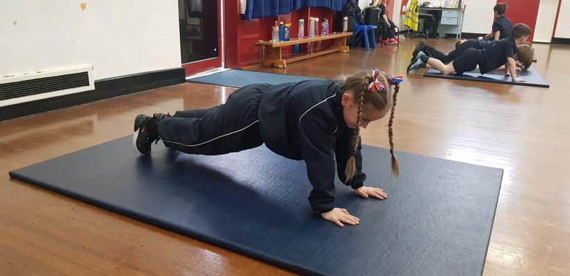 Working on core stability