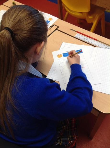 Independently completing a BODMAS challenge