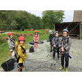 Getting ready for climbing at PGL.