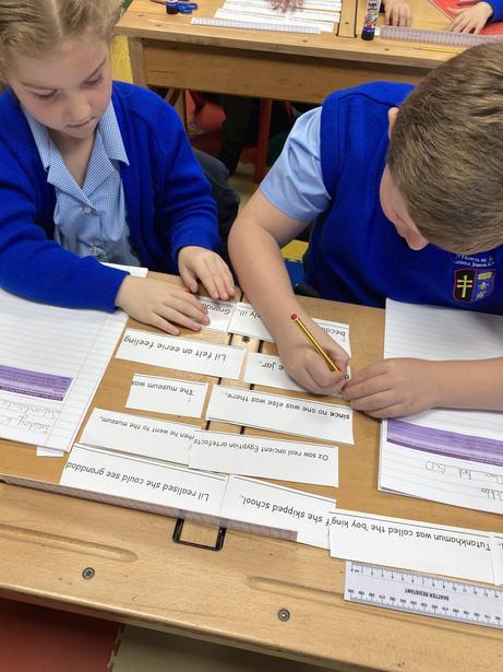 Creating SCF Sentences