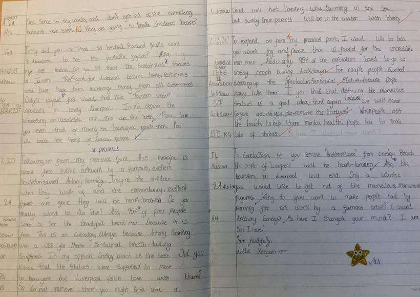 Persuasive Letter Independent Write part 2
