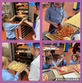 Year 3 - Cooking and presenting our pizzas