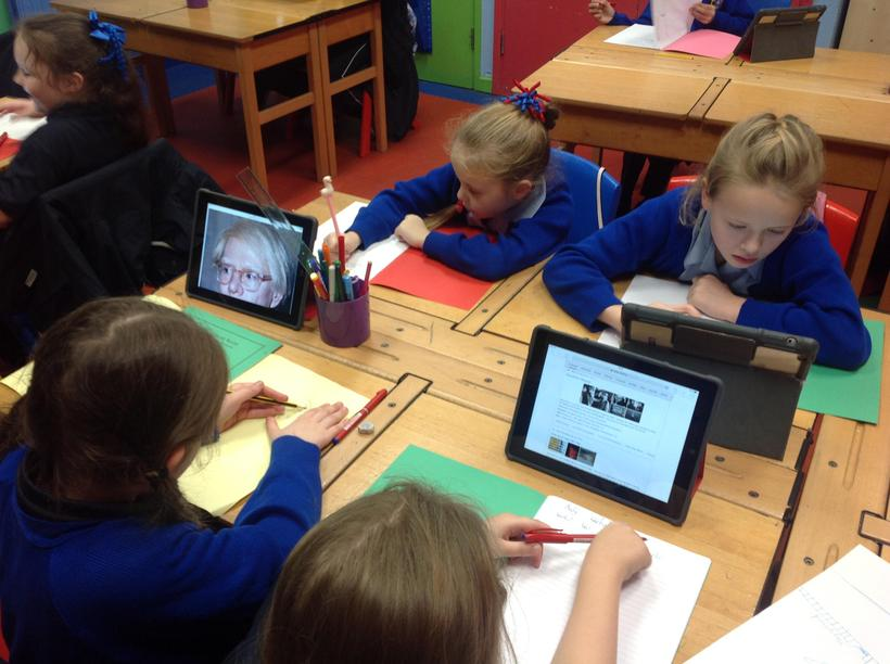 Researching for biographical writing