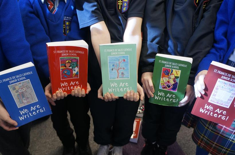 All five editions of our books from over the years