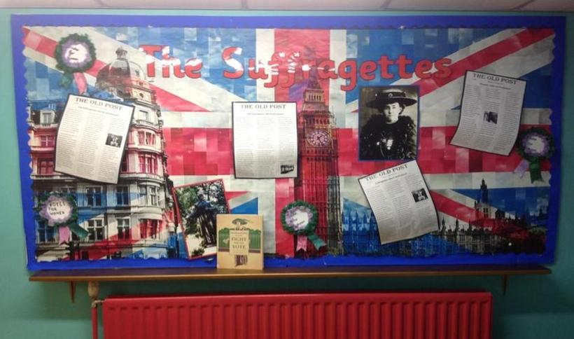 Year 5 - The Suffragette Movement