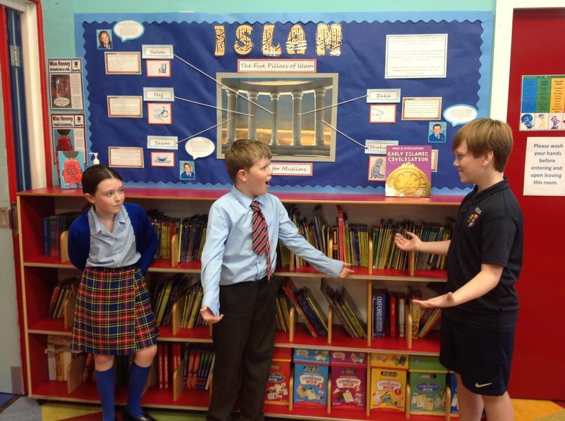 Debating a motion