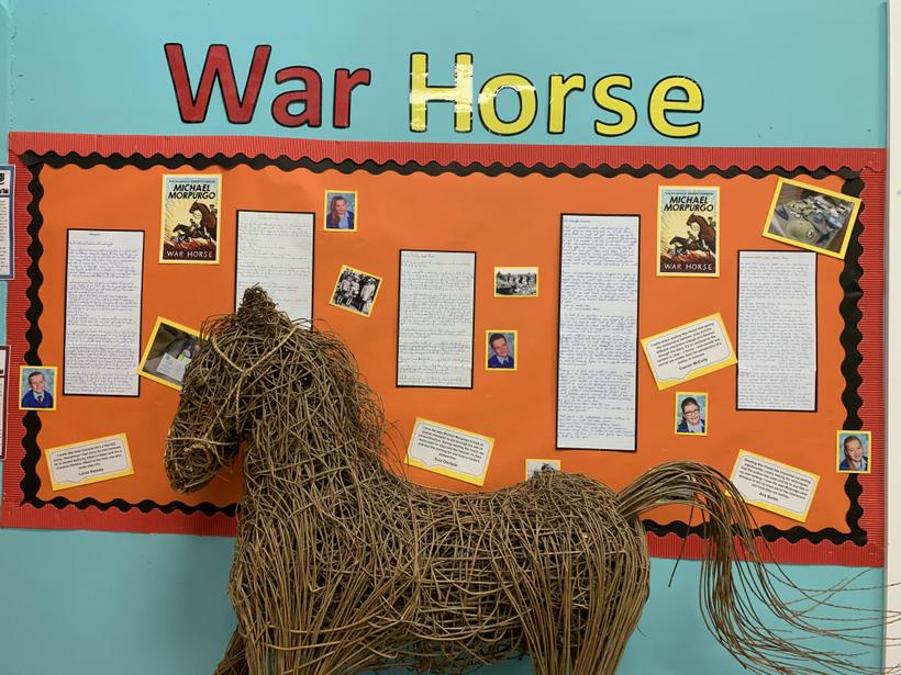 'War Horse' inspired independent writing