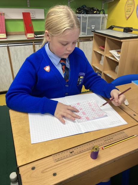 Showing a knowledge of prime numbers