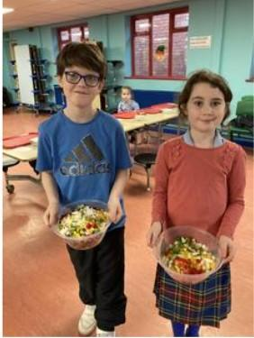 Our yummy pasta salads!
