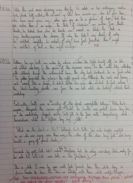 Our writing inspired by Philip Pullman