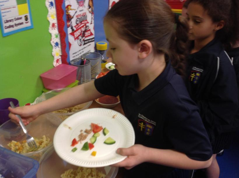 Taste testing and gathering ideas