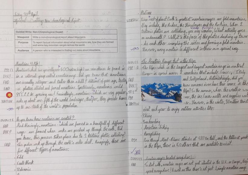 Non-Chronological Report Independent Write Part 1