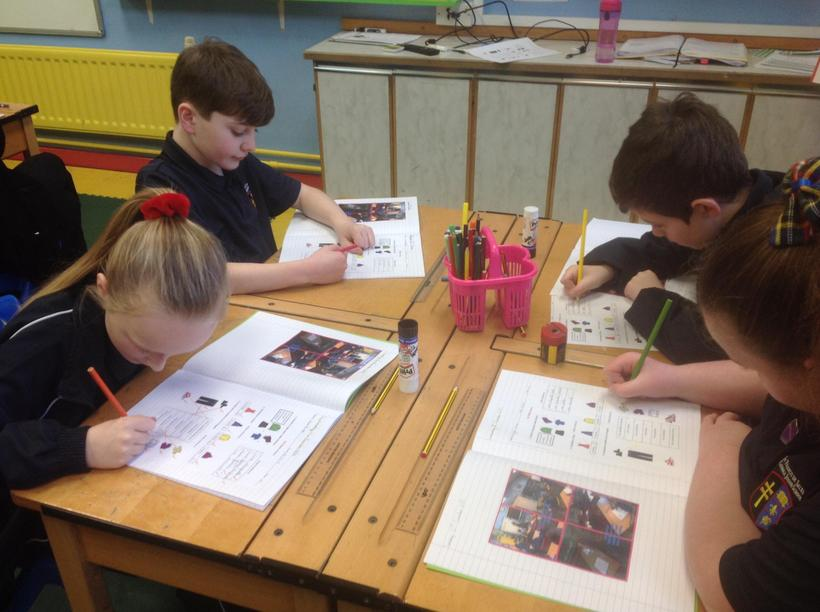 Matching pictures to plural clothing terms