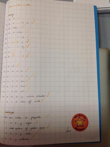 Learning about proportion in Year 6