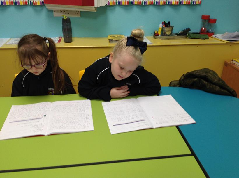 Using self-assessment to improve our writing.