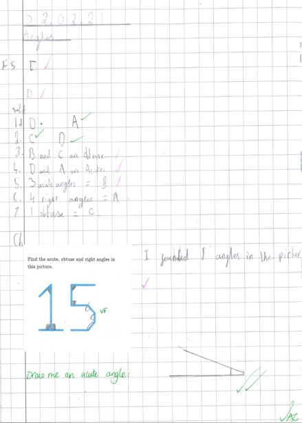 Using angles in our Maths