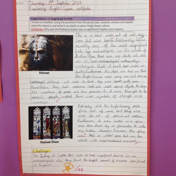 Exploring Anglo-Saxon artefacts