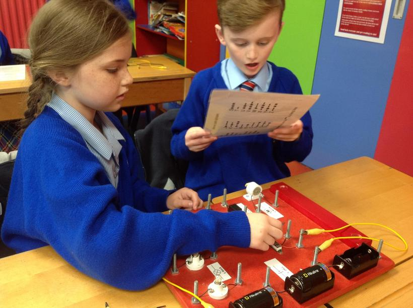 Making electrical circuits