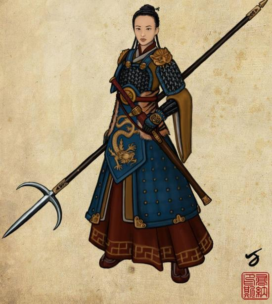 Fu Hao- female general of the Shang Dynasty