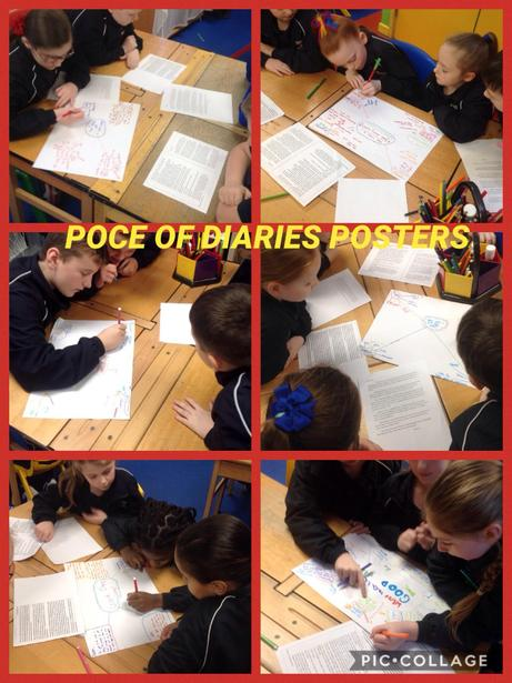 Discovering the POCE of diaries