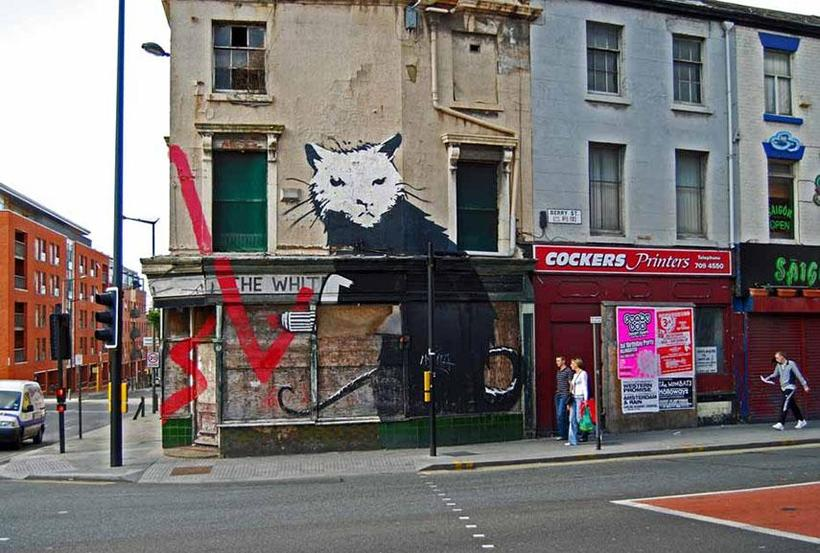 Banksy - The Rat in Liverpool