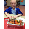 Year 4 - Presenting our completed dishes inspired by traditional Greek cuisine
