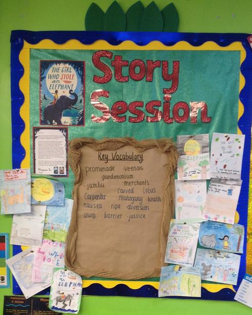 Analysing Vocabulary and Themes in 'A Girl Who Stole an Elephant.'