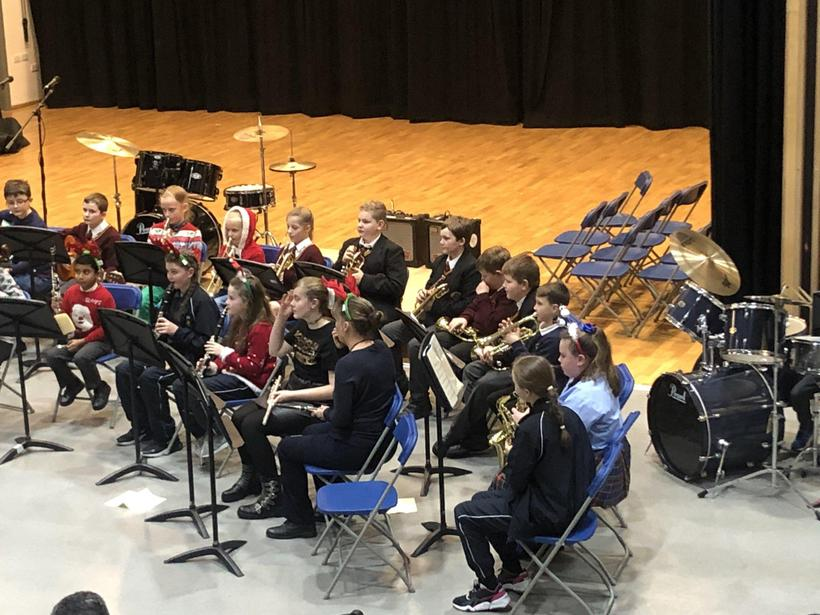 Our talented musicians at Resonate's Xmas concert
