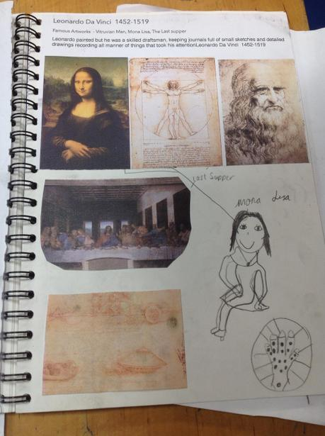 Learning about leonardo de Vinci