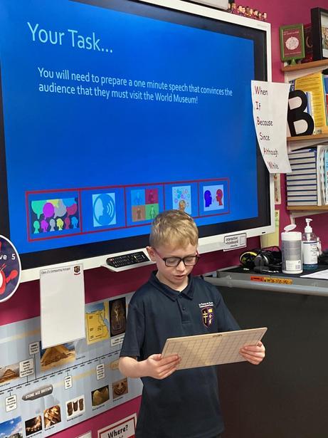 Practising our persuasive skills