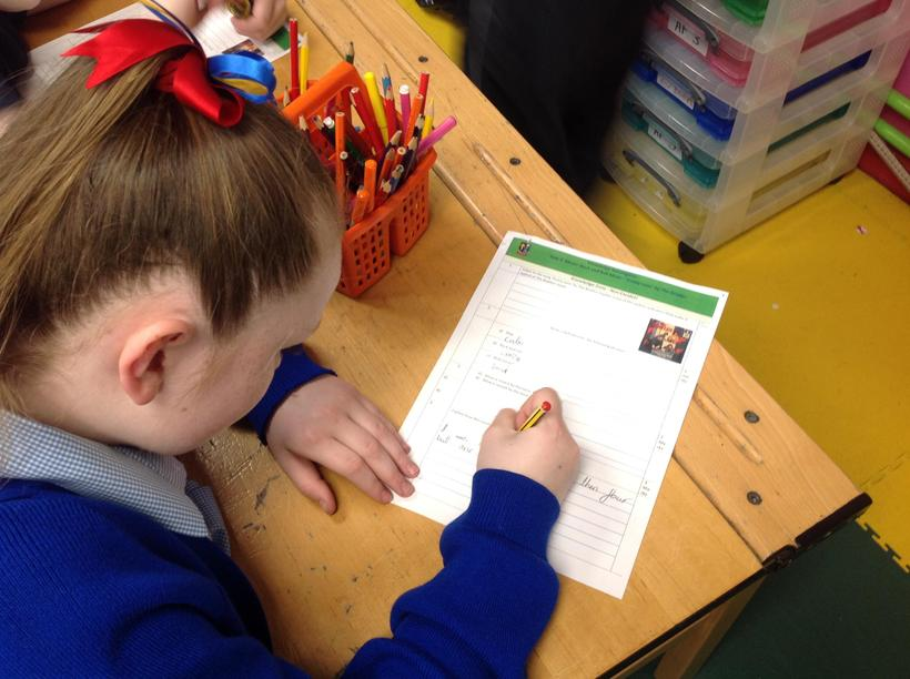 Showing understanding of our current topic