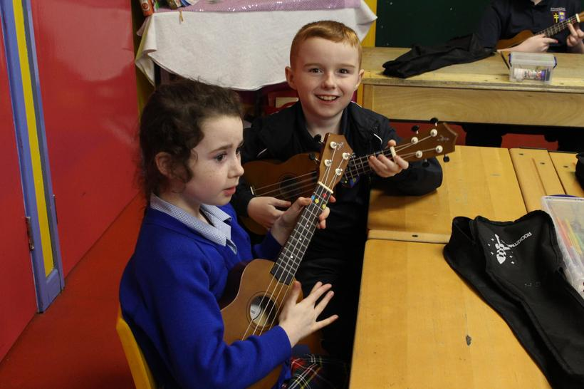 Independently practising chords