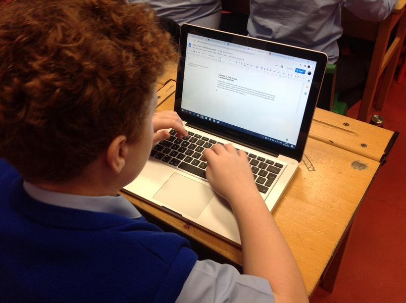 Formatting our work by changing the font, colour and size.