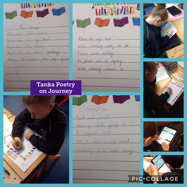 Creating our Tanka Poems