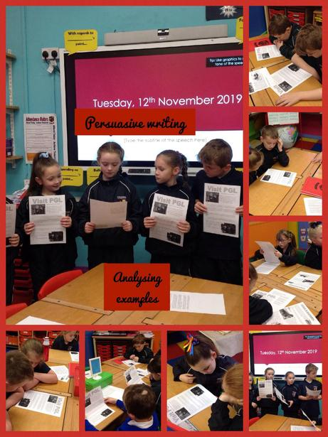 Presenting our findings to the class