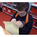 Year 6 - Testing out our sewing skills