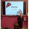 Year 3 - Explaining the process of making a pizza