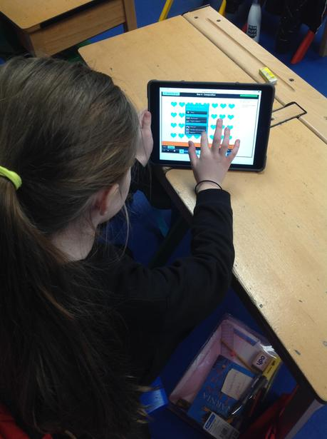 Composing using iPads