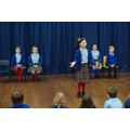The debating team show their skills