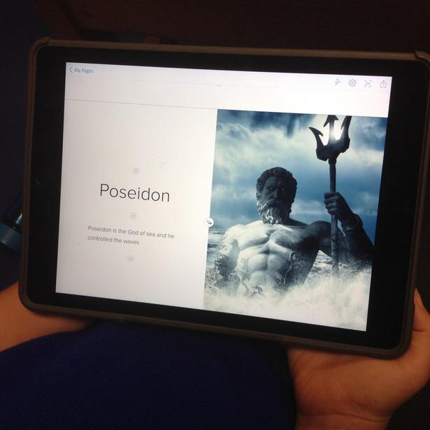 A snapshot of a presentation!