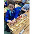 Year 5 - Making bridges trusses using triangles for strength