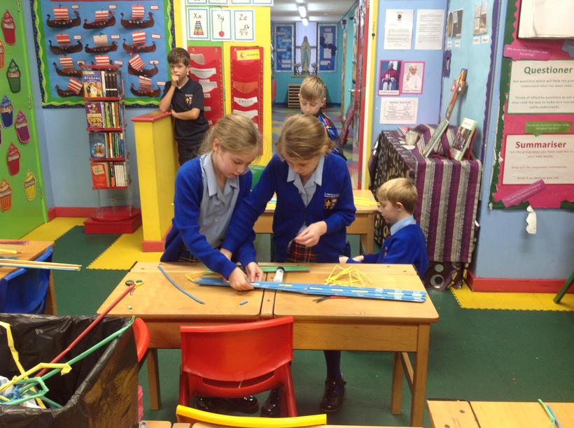 We independently constructed our bridges