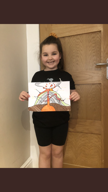 Lottie with her excellent diagram