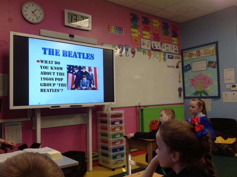 Acquiring cultural capital about The Beatles