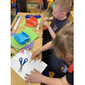 Year 3 - Making the shell structure for our pneumatic monsters