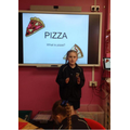Year 3 - Explaining the process of makinhg a pizza