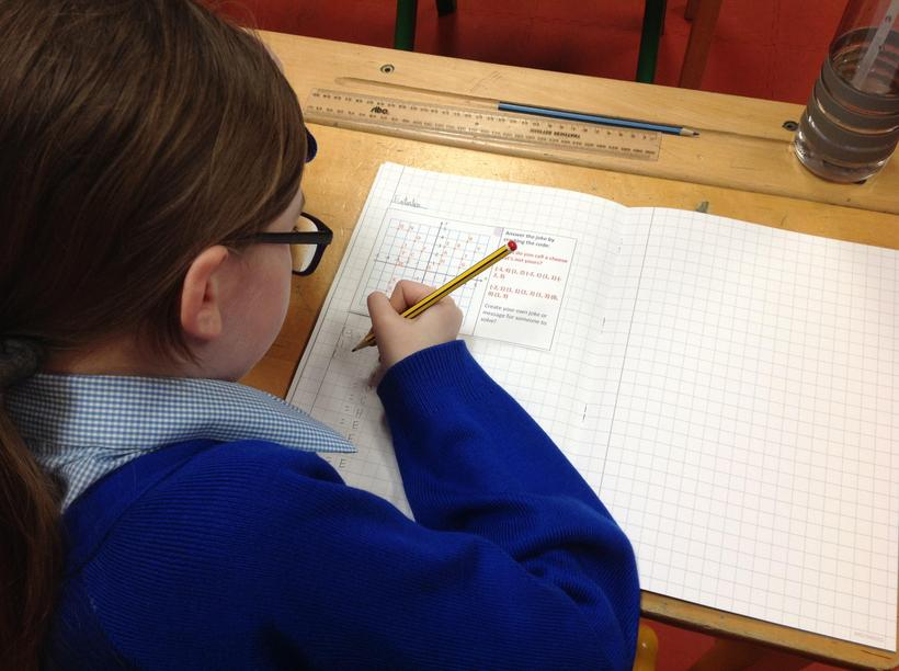 Using knowledge of coordinates to crack a code
