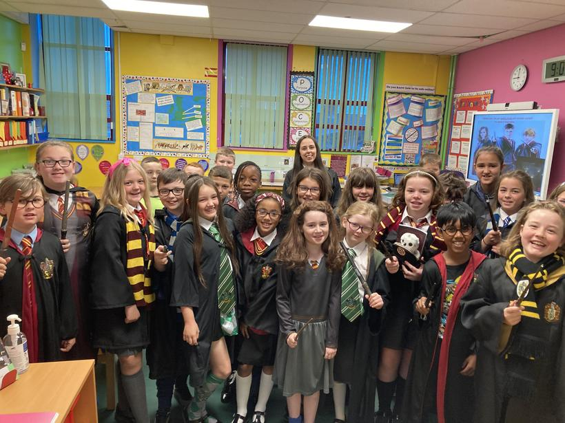 Class 10 on 'Harry Potter Day'